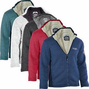 PASSENGER Ladies Womens Sherpa Fleece Lined Heavy Fleece Warm Hiking Jacket