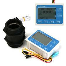 2'' Inch Flow Water Sensor Meter+LCD Display Quantitative Control 1-9999L / min