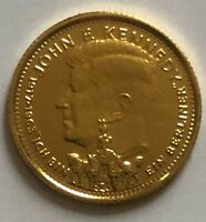 Liberia 20 Dollars 1993 *John F Kennedy* 1/25 oz Gold .9999