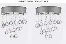 SET OF 2-WALL SCONCE Modern Chandelier