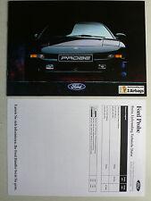 Prospekt Ford Probe 16V und 24V, 6.1994, 16 Seiten + Preise/Daten