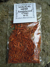 Sandalwood Chips Pagan Wiccan Spell ingredients Protection & Purification Love