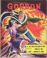 fumetto GORDON ED. SPADA ANNO 1965 N. 36 IN APPENDICE 20.000 LEGHE SOTTO I MARI