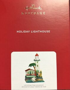 2021 Hallmark Holiday Lighthouse Ornament - 10th in series  MAGIC Lights