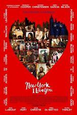NEW YORK, I LOVE YOU - 2009 - Original 27x40 D/S movie poster - BLAKE LIVELY
