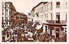 B76379 Bucuresti Animatie Mare pe Calea Victoriei  real photo romania