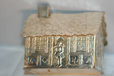 ANTIQUE  ~~ SILVER HANSEL & GRETAL BANK-ADORABLE-gREAT BaBy sHOWER GIFT