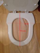 Incepa Hampton Replacement Toilet Seat White MDF Eljer Savannah
