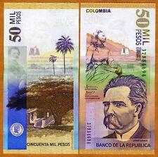 Colombia, 50000 (50,000) Pesos, 2006, P-455 (455g), UNC > Vertical