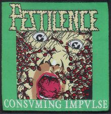 PESTILENCE-CONSUMING IMPULSE- WOVEN PATCH-super rare