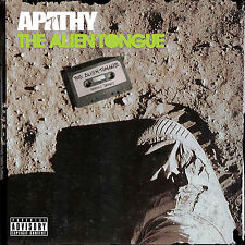 APATHY The Alien Tongue CD JEDI MIND TRICKS ALIEN NATION ETERNIA DEMIGODZ AOTP