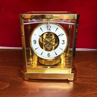 Millennium Swiss Atmos Lecoultre  Mantel  Clock
