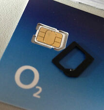 O2  02 Nano Sim Card Pay And Go For iPhone 5 5c 5s & iPhone 6 & 6+ 4G Internet