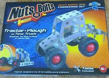 BNIB Nuts & Bolts Construction Set Tractor &Plough or Tow Truck