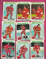 21 X 1975-76 OPC DETROIT RED WINGS  CARD (INV# C9905)