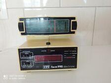Radio Réveil Vintage Années 70 Style Space Âge