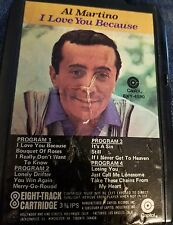 Al Martini I Love You Because 8 TRACK TAPE Capitol 3 3/4 ips 8XY 4590