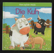 Tiere auf der Weide: Die Kuh ? Bilderbuch Kindersachbuch 4 Bilder