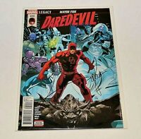 DAREDEVIL #600 Signed CHARLES SOULE RARE BIG ANNIVERSARY ISSUE Autographed