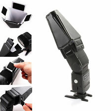 Universal Foldable Flash Speedlite Speedlight Reflector Diffuser Snoot Softbox