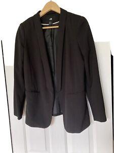 H&M Black Tuxedo Jacket Size 38(10)