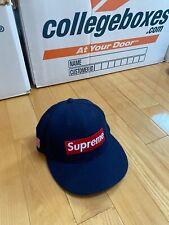 Supreme New Era Hat Wool Flag 7 1/4
