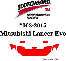 3M Scotchgard Paint Protection Film Pro Series 2008 - 2015 Mitsubishi Lancer Evo