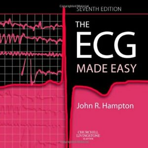The ECG Made Easy by John R. Hampton Paperback Book The Cheap Fast Free Post