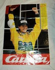 Carrera Racing Poster Schummi Michael Schumacher Streckenplan Autorennbahn