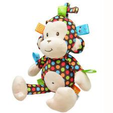 Baby Pushchair Crib Cot Hanging Toy Plush Soft Pram Toys Musical Kids Bed Monkey