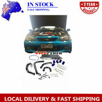 Intercooler + Pipe Kits For Ford Falcon Turbo XR6 BF BA Typhoon FPV F6 G6ET