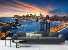 New York City - Brooklyn Bridge   Wall Mural Photo Wallpaper GIANT WALL DECOR