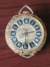 Leda | Swiss Made | Vintage | Gold Mechanical Pendant Watch | Working Condition