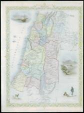 More details for 1850 rare original antique map of