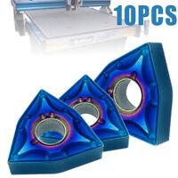 10pcs HRC45 Blue Nano WNMG080404 Carbide Insert WWLNR/L MWLNR/L Turning Tool