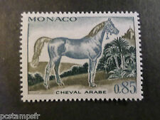 MONACO 1970, timbre 838, CHEVAL BARBE, neuf**, VF MNH STAMP, HORSE