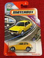 MATCHBOX 2020 MBX HIGHWAY, '76 HONDA CVCC Civic 45/100 free shipping