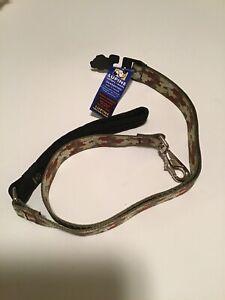 "Lupine Bone Hunter Dog lead leash With Padded Handle 4 Foot X 1"" RETIRED DESIGN"