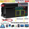 2000W/4000W Power Inverter 12V DC to 110V AC Adapter Charger Supply Electricity