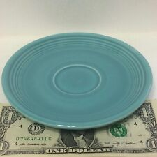 Beautiful Classic Old Turquoise Fiesta Saucer