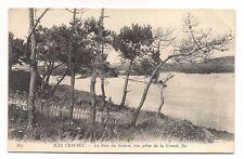 iles chausey  la baie du sound , vue prise de la grande ile