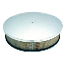 """Polished Aluminum Air Cleaner 14"""" X 3"""" SPECTRE 4913"""