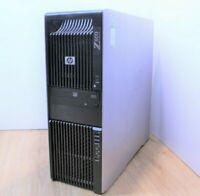 HP Z600 Workstation Windows Tower Intel Xeon Quad E5620 2.4 8GB 2x 320GB WiFi