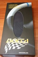 Couvre Volant en Cuir NOIR pour SEAT AROSA 99> & IBIZA 99>.ISOTTA Made in ITALY