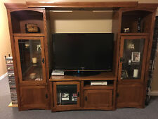 Entertainment Center - Wood