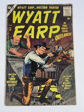 Wyatt Earp #13 (Atlas /Marvel Comics 1957) G/VG Silver Age Western