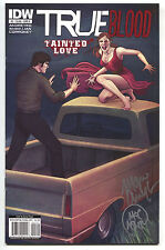 True Blood Tainted Love 2 B 2011 NM Signed 2x Marc Andreyko Michael McMillian