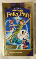 Peter Pan VHS 1953 Animated Film 45th Anniversary Collector's Edtn New & Sealed