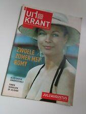 "ROMY SCHNEIDER-HORST BUCHOLZ-MICHEL PICCOLI.  // ""Uit Krant""-Juli/ Augustus 2007"