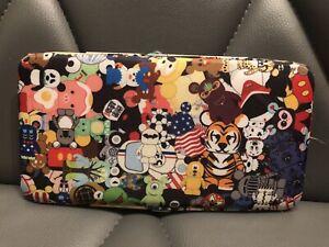 Disney Parks VINYLMATION Clutch Hard Case Wallet Purse Japanese Kawaii Style